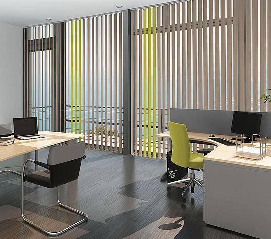 Lamellenvorhänge Büro Chemnitz