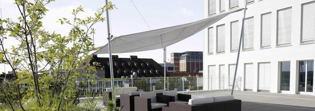 Sonnensegel Dachterrasse Chemnitz