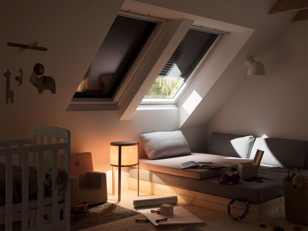 Velux Dachfenster Sonnenschutz außen 01