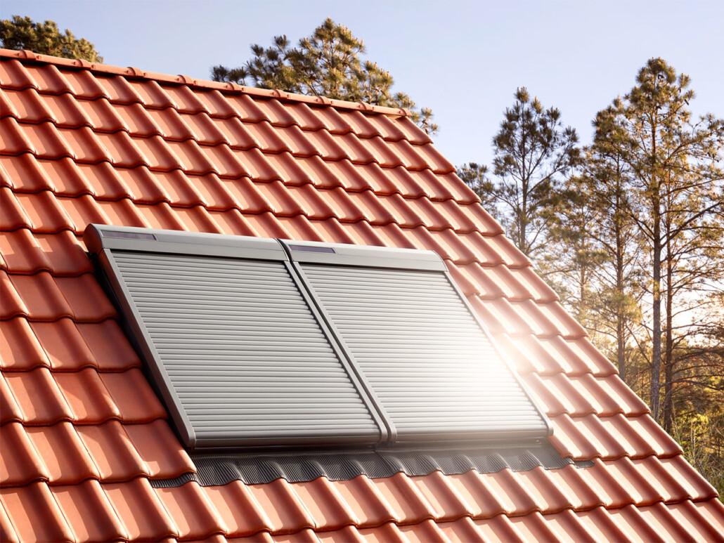 Velux Dachfenster Sonnenschutz außen 02