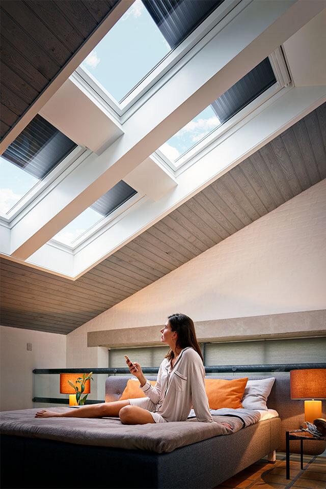 Velux Dachfenster Sonnenschutz außen 03